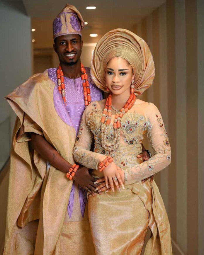 Nollywood actress, Yetunde Barnabas, ties knot with footballer, Olayinka Peter